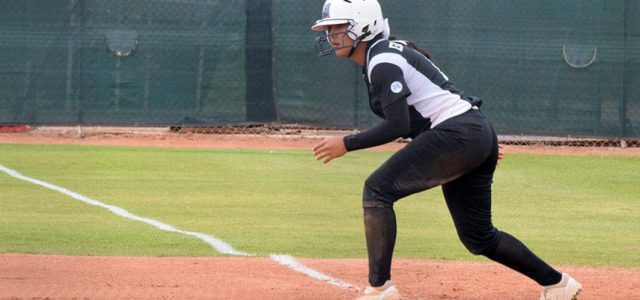 Softball splits with rival Pilots in home opener
