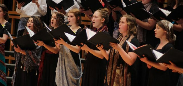 Earthtones concert showcases sounds from many cultures  Choral director prepares to retire
