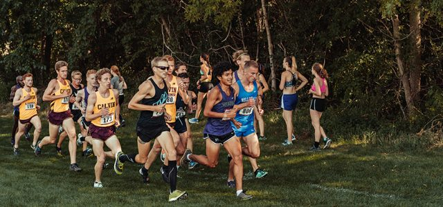 Men's cross country beat ranked opponents