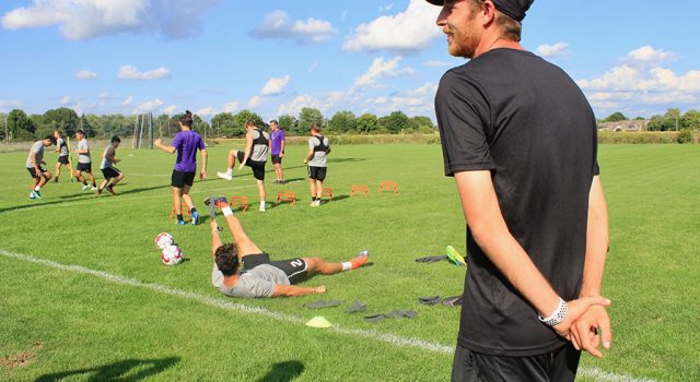 Men's soccer picks up momentum under the direction of new head coach