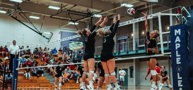 Women's volleyball fall against Mount Vernon
