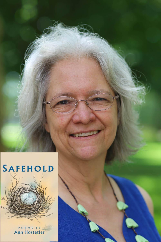 Portrait of Ann Hostetler with book