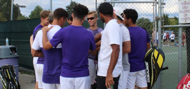 Men's tennis defeated in semifinals