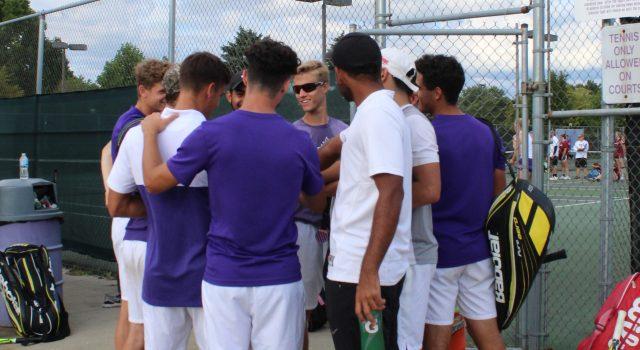 Men's tennis defeated in semifinals
