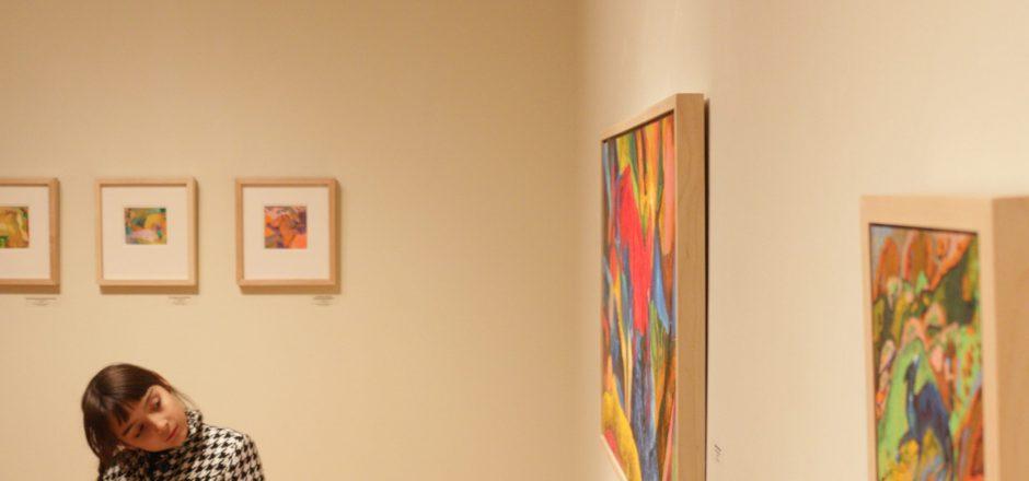 Alumni exhibition brings energy into art