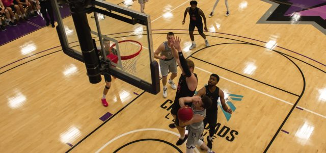 Men's basketball falls to Holy Cross