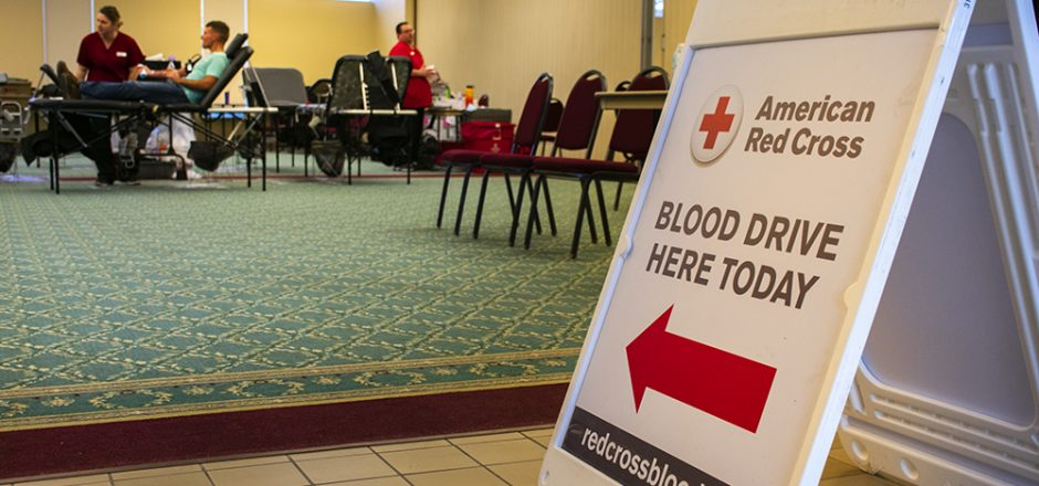 Red Cross annual blood drive successful