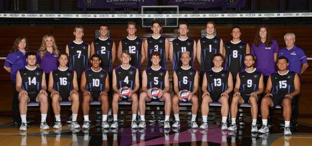 Men's volleyball 2-2 on the season