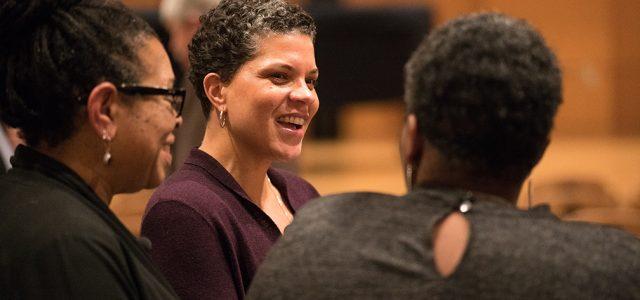 Michelle Alexander visits Goshen College
