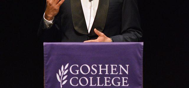 Goswami wins Oratorical Contest