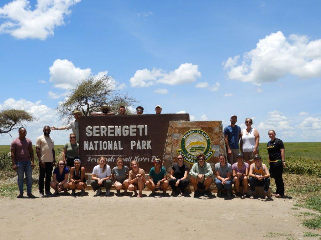 sst group at serengeti national park