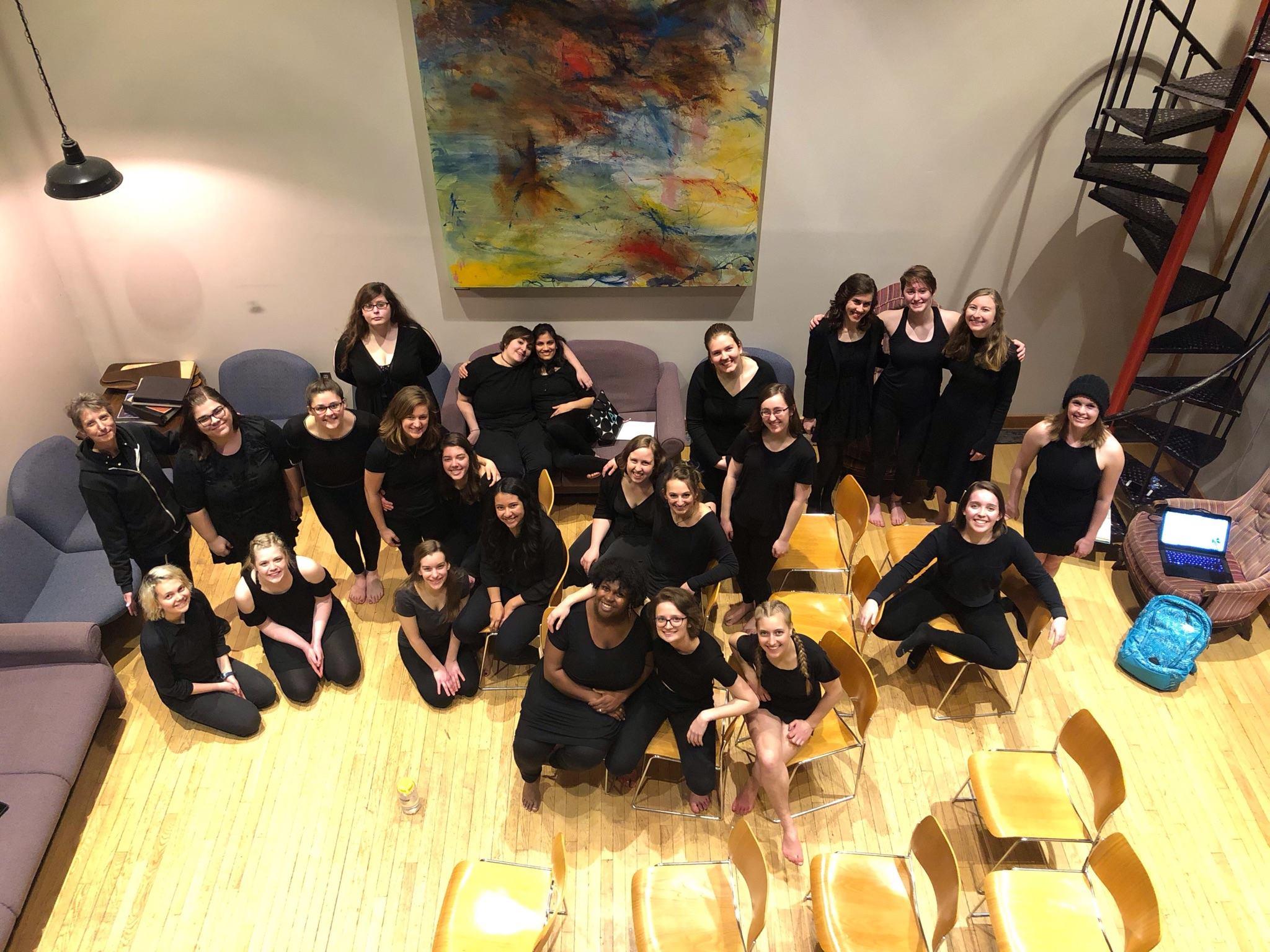 Goshen Monologues 2019 group photo