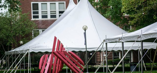 The REAL reason for the tents on campus
