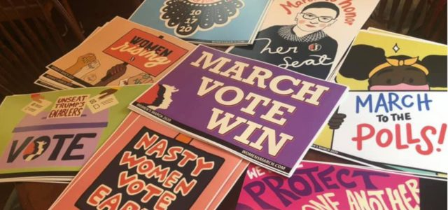 Virtual women's march shares message of hope