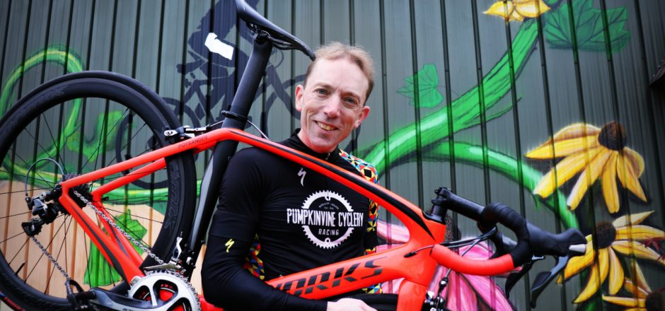 GC alumnus cycles against cancer, conquers his own Everest