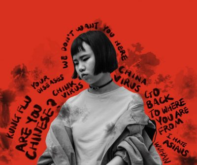 asian hate graphic produced by Yujin Kim