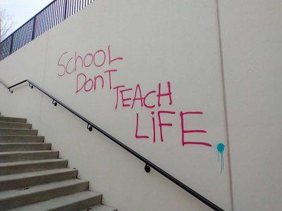 vandalism on campus