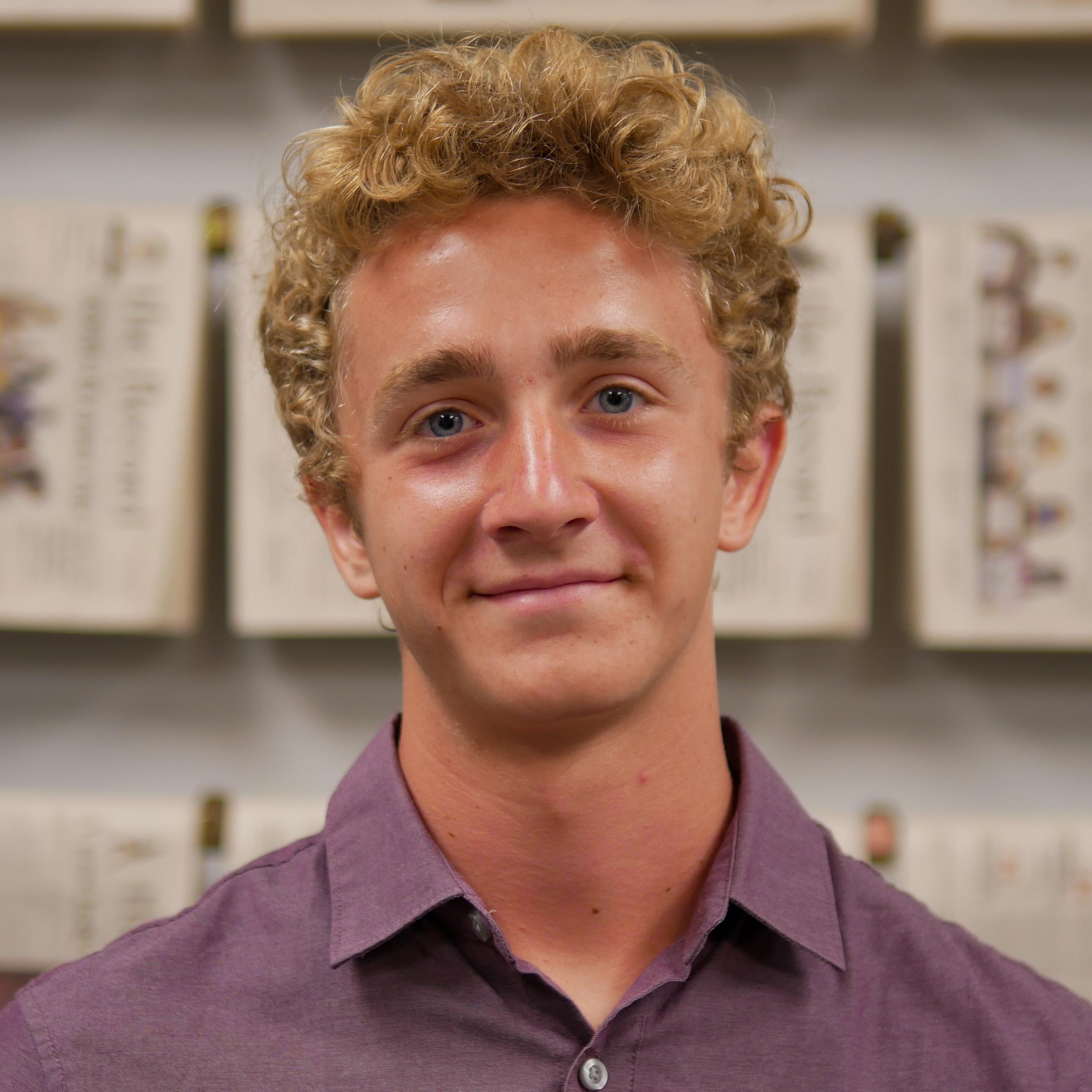 Portrait of Caleb Shenk