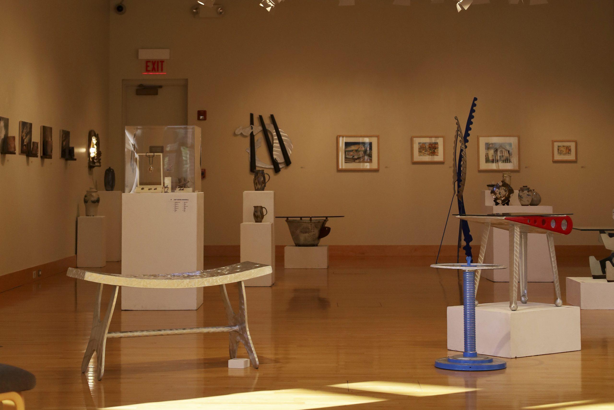 Faculty art exhibit