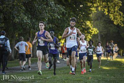 Men's Cross country runners