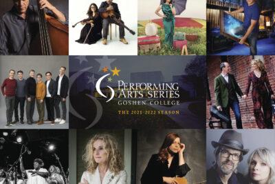 Performing arts series poster