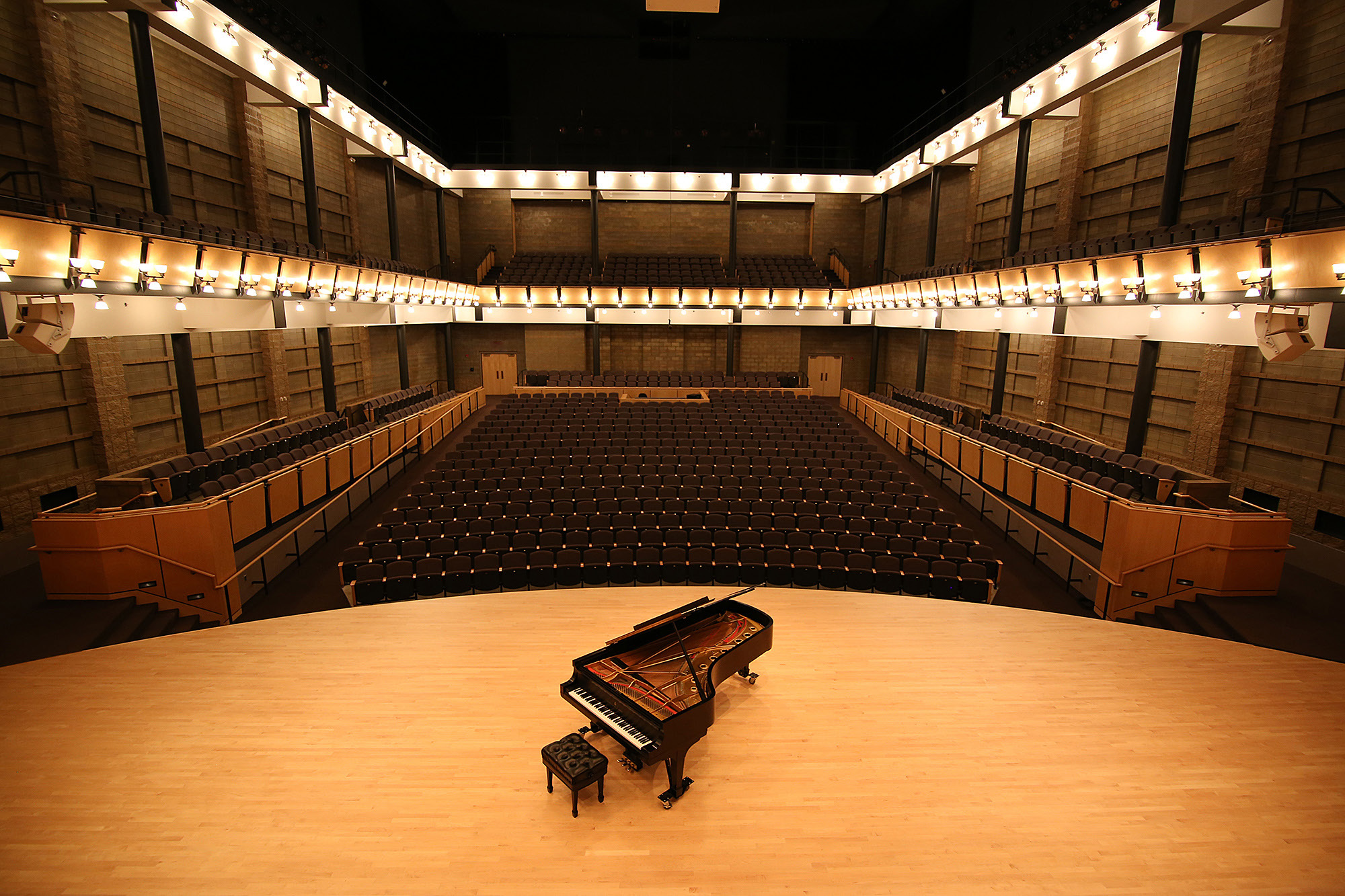 Sauder Concert Hall from the stage
