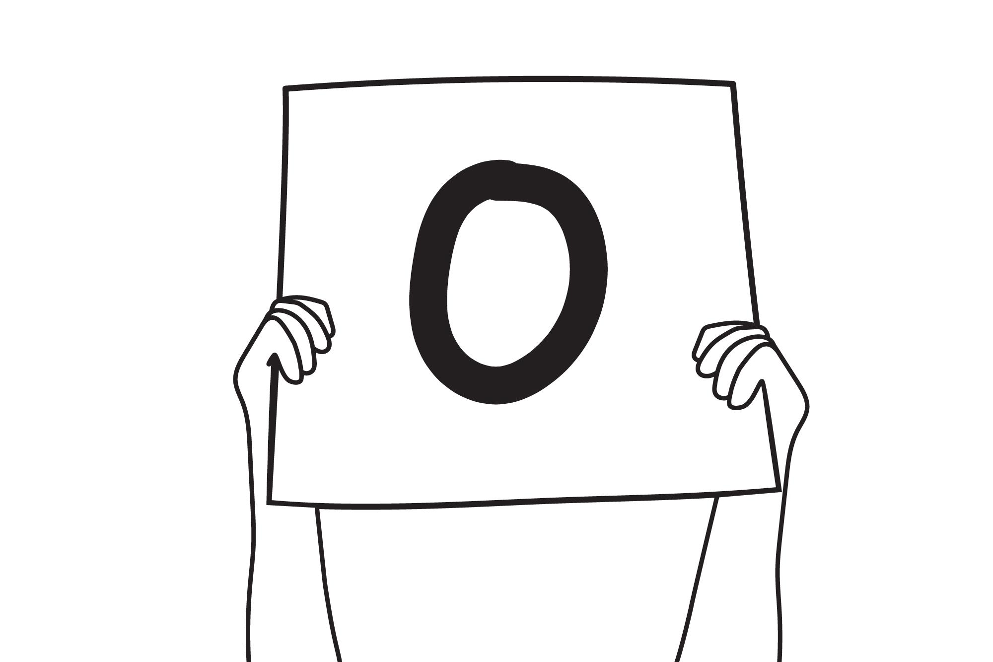 Scorecard reads zero