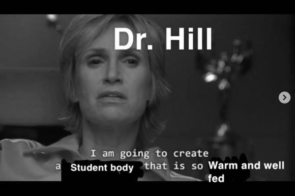 Meme about Dr.Hill